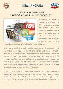 Proroga bonus incentivi 2019
