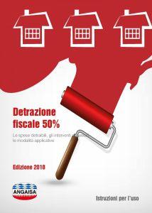 Opuscolo detrazioni fiscali 50% - Ediz. 2018